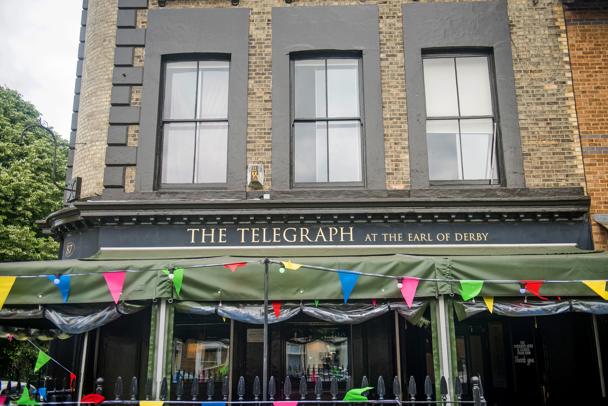 The Telegraph at the Earl of Derby